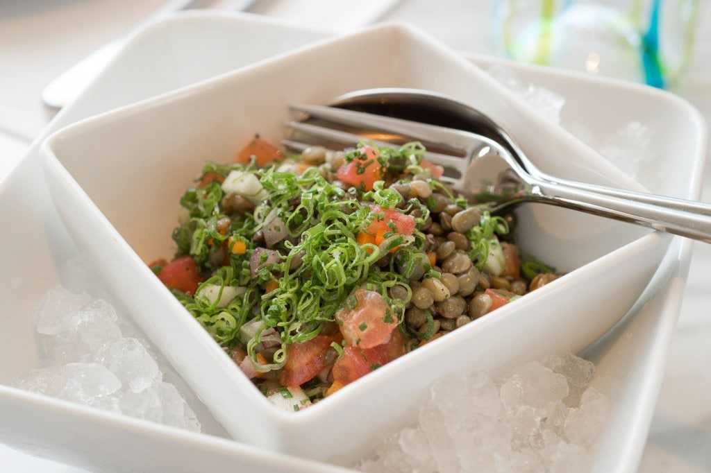 Lentil Salad from Ivy