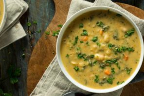 Winter Comfort Mung Bean Stew